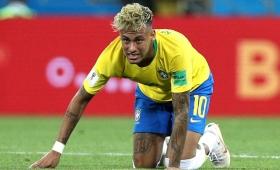 Neymar, Thiago Silva y Paulinho se entrenaron de manera diferenciada