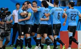 Uruguay venció Arabia Saudita y se clasificó a octavos