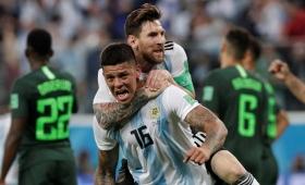 Argentina le ganó a Nigeria y se metió en octavos