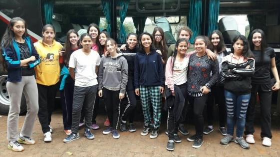 Misioneras en el campeonato argentino de handball