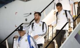 La Selección Argentina llegó a Rusia