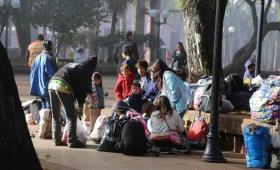 Barros admitió que hay más personas en situación de calle