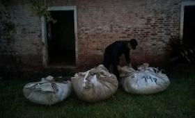 Recuperaron 110 ponchadas de yerba robadas