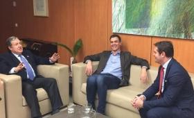 """Ramón Puerta destacó la """"consolidación del Estado Español"""""""