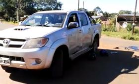 Heridos graves en accidente de tránsito