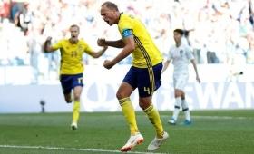 Rusia 2018: Suecia venció a Corea del Sur