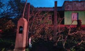 Tornado en Bonpland: reparan las casas dañadas