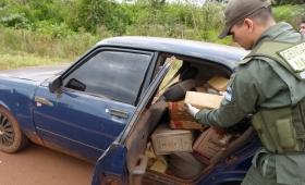 Cayó transportando casi 200 kilos de droga en un Volkswagen 1500