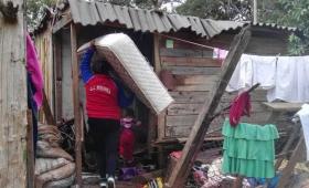 La felicidad de tener un colchón en una villa miseria