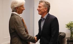 Macri se reúne este sábado con Lagarde