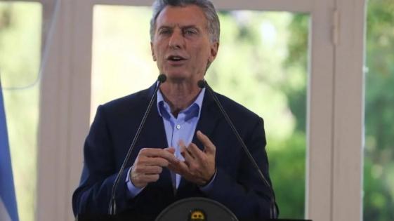 """Macri: """"Estamos haciendo todo lo que está a nuestro alcance para salir adelante"""""""
