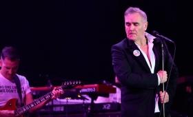 Morrissey canceló su show en Paraguay