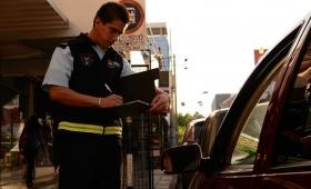 Casi mil multas de tránsito en lo que va del mes
