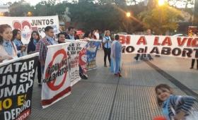 Tercera marcha en Posadas, contra el aborto legal