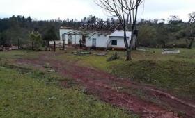 Un muerto y dos heridos por el temporal en Guaraní