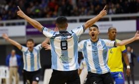 Futsal: Argentina y Colombia se enfrentan en Posadas