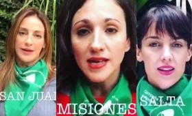 Aborto legal: el colectivo Actrices Argentinas dirige un mensaje a los senadores