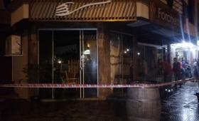 Incendio en un restaurante de Bernardo de Irigoyen