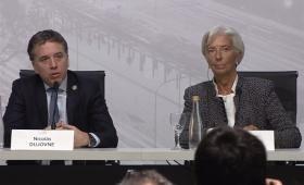 """Lagarde: """"La economía va a mejorar al inicio de 2019"""""""