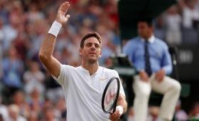Del Potro le ganó a Paire y se metió en octavos de Wimbledon