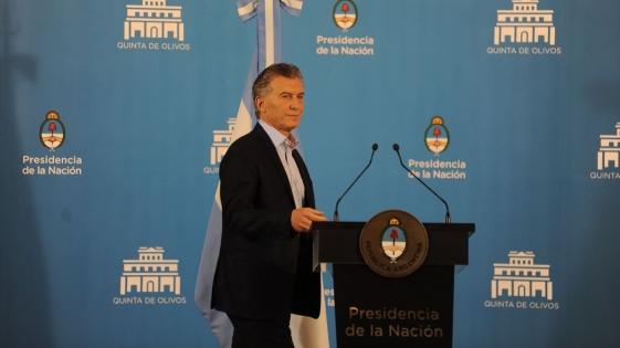 """Macri prometió """"bajar 10 puntos"""" la inflación en 2019"""