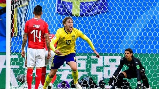 Suecia se impuso por la mínima ante Suiza