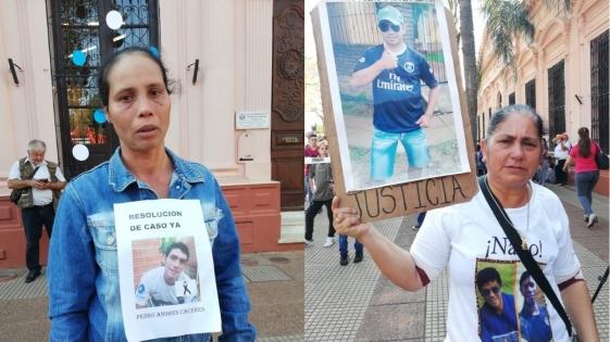Exigieron justicia por jóvenes presuntamente ejecutados por policías