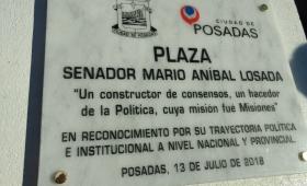 Realizaron un homenaje a Mario Losada