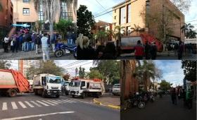La protesta del Soemp sigue, con cortes y sin servicios