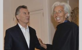 Macri aseguró a Lagarde que se cumplirán las metas del FMI