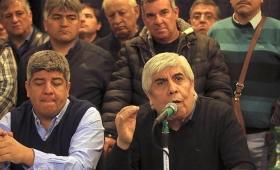 """Moyano aseguró que """"se acelera"""" la caída del gobierno"""