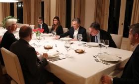 Mauricio Macri y Juliana Awada recibieron en Olivos a Lagarde