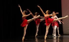 La Academia de Ballet de Moscú convoca numeroso público