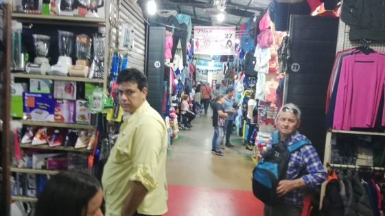 Vendedores Ambulantes en emergencia económica
