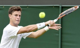 Schwartzman ganó su primer partido sobre césped en Wimbledon