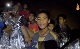 La carta del entrenador de los niños atrapados en la cueva