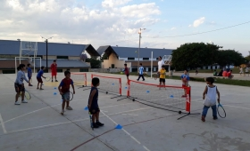 """Un centenar de niños participan del programa """"Red en Juego"""""""