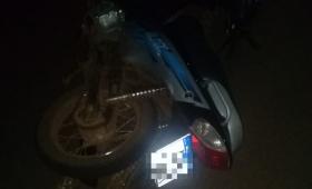 Un hombre de 44 años murió al ser atropellado por una moto