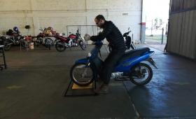 De 50 mil motos, solo el 10% tiene la VTV hecha