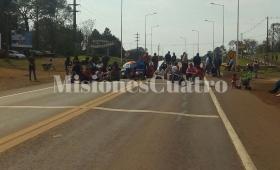 MPL, CTA y tareferos cortaron la ruta en Montecarlo