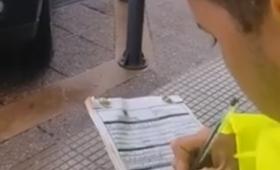 """Habló el inspector que multó a turistas: """"La culpa es del hotel"""""""