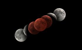 El cielo nublado complicó el seguimiento del Eclipse