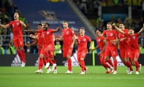 Inglaterra eliminó a Colombia y clasificó a cuartos