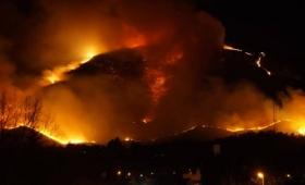 Incendios forestales en el centro del país