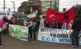 Reclamaron 6 mil pesos de subsidio interzafra en Misiones