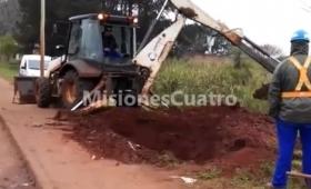 Avenida Cabo de Hornos: ¡un desastre!
