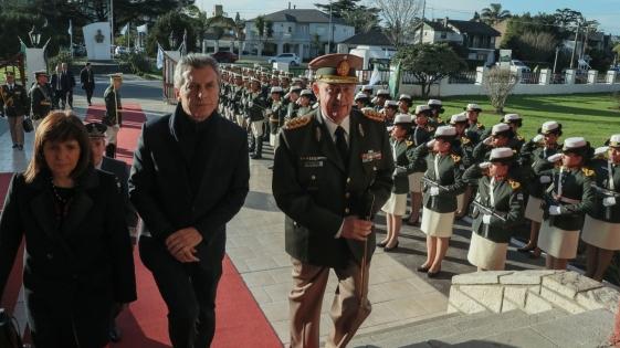 Macri destacó el trabajo de la Gendarmería para proteger las fronteras