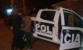 Atraparon a presunto motochorro en B° Cocomarola Oeste