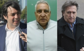 Trompadas en el pabellón de los corruptos