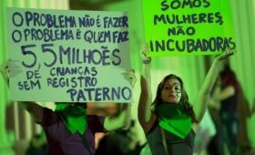 Brasil comenzó a debatir la ampliación del derecho al aborto